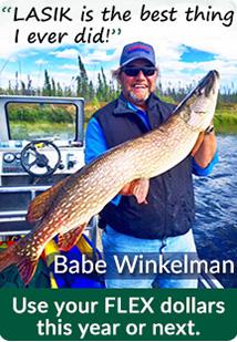 Babe Winkelman LASIK at GREA